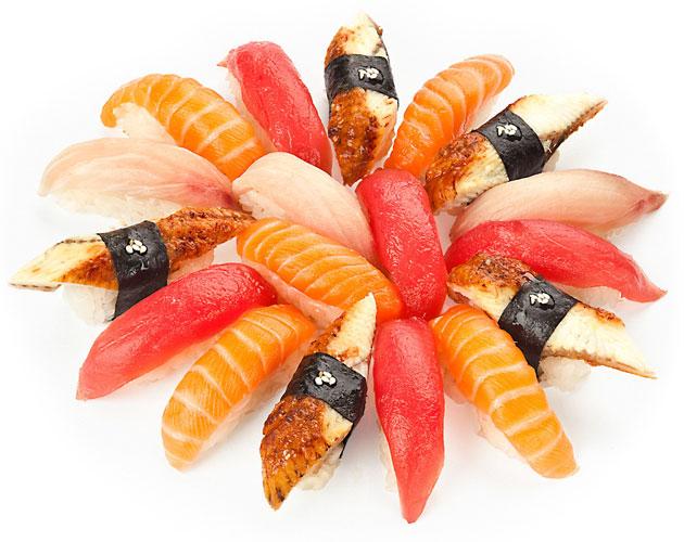 Общие черты суши и роллов