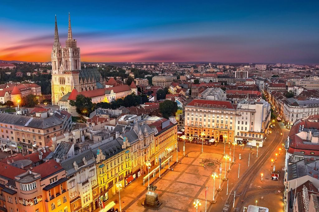Загреб – жемчужина Хорватии
